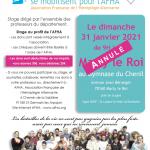 Soutient à l'Association Française de l'Hémiplégie Alternante