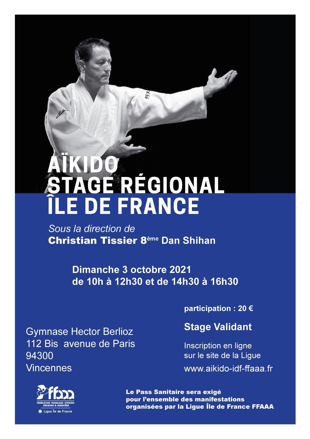 Stage Régional 03 octobre 2021 - Christian Tissier