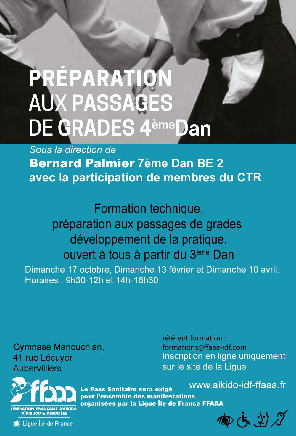 Préparation grades 4ème Dan - n°2